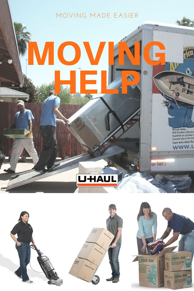 Make moving easier with Moving Help®. Use Moving Helpers®  to pack, load, clean and more! You are in complete control of your move! Our moving labor does not receive payment until the moving services are completed to your satisfaction. Once satisfied, simply give the Moving Helper® the Payment Code and let us do the rest! I Planning for a Move