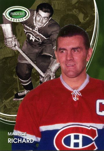 #5 Maurice Richard rc  | Here is my 03/04 Parkhurst Rookie s