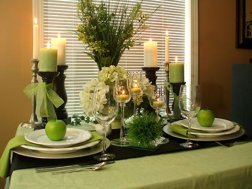 17 best images about apple green on pinterest spring for Apple decoration