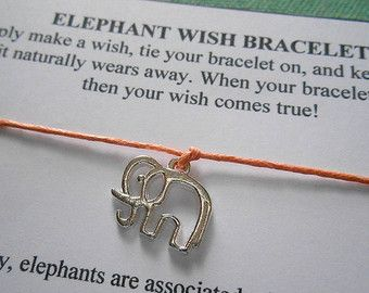 Olifant wensen armband Kies uw kleur door Elephants4Ethiopia