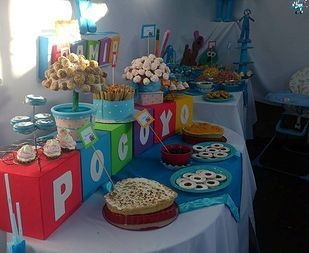pocoyo decoracion cumpleaños - Buscar con Google