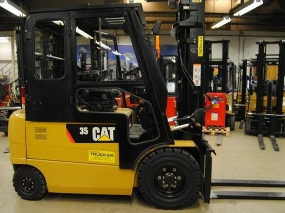 Free Caterpillar Cat Ep25k Forklift Lift Truck Service