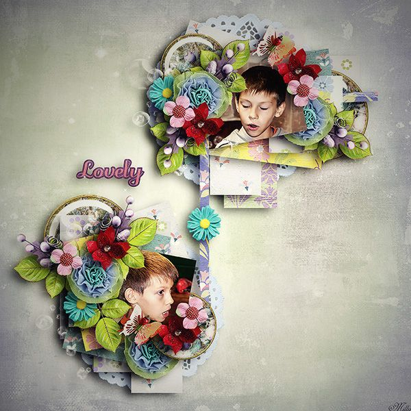 Violet by Valentina's Creations template Thankful for... by Tinci Designs