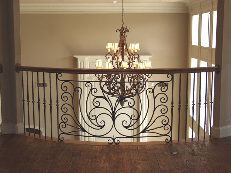 This Iron Balcony Is Made With Custom Fabricated Components. All Of Our  Custom Stair Parts