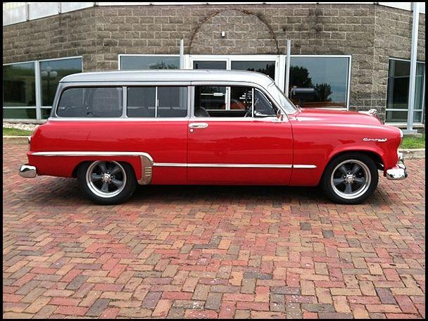 1953 Dodge Coronet Sierra 2 Door Wagon | Mopar Street Rod ...