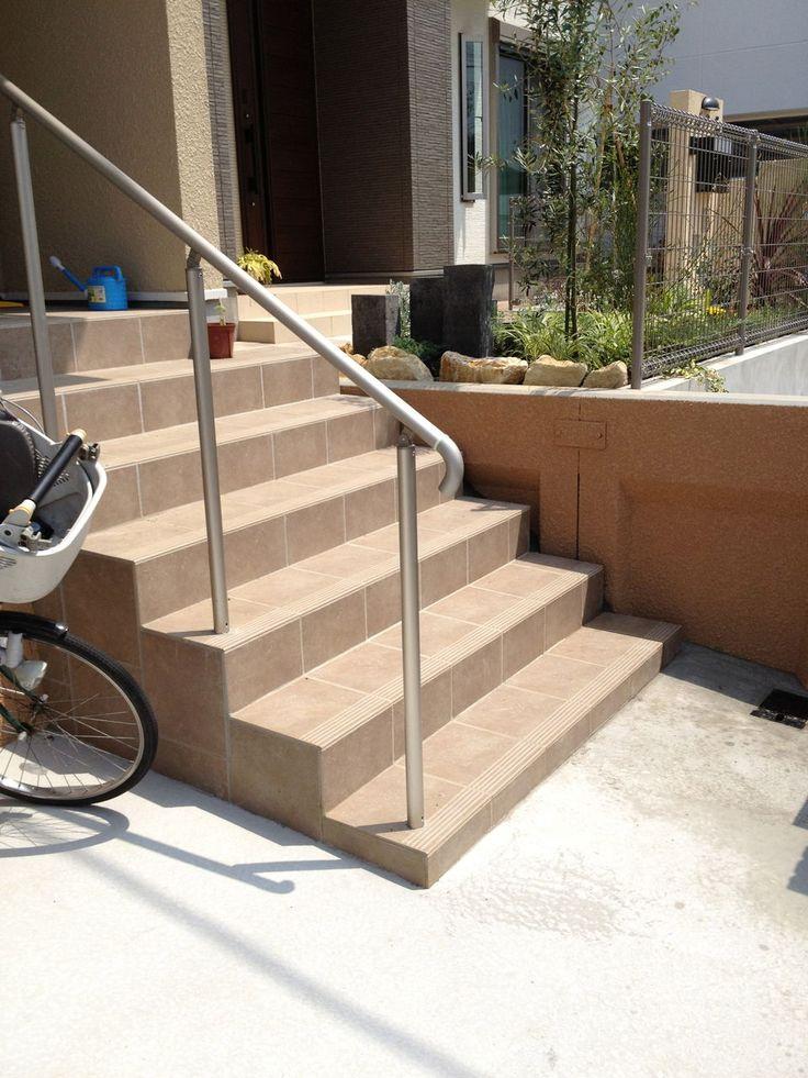階段に手すりをつけました。 : Aquarian's Garden IMG_0527