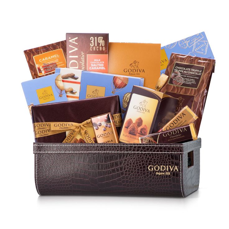 Godiva truffle lovers will fall for this luxurious gift hamper with a perfect balance of chocolate truffles, Godiva coffee, biscuits, and classic chocolates.