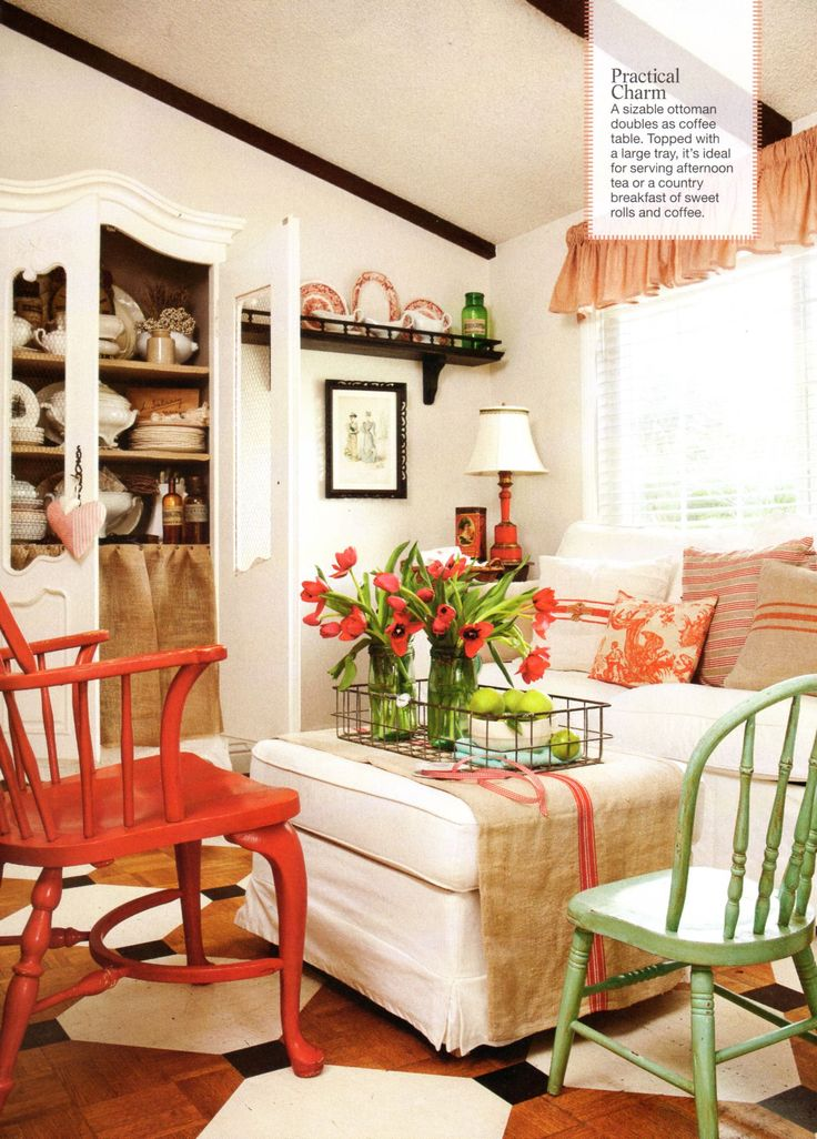 Emejing french country decorating magazine photos for Magazine living room ideas