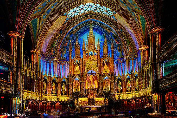 Notre Dame Basilica Montreal | Notre-Dame Basilica, Montreal | Nature Notes