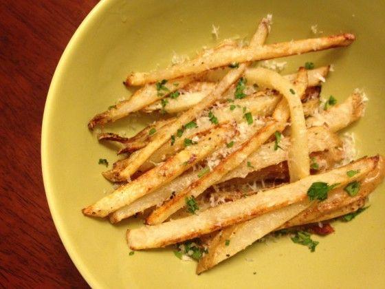 Parmesan Garlic Truffle Fries | Food- Sides and Veggies | Pinterest