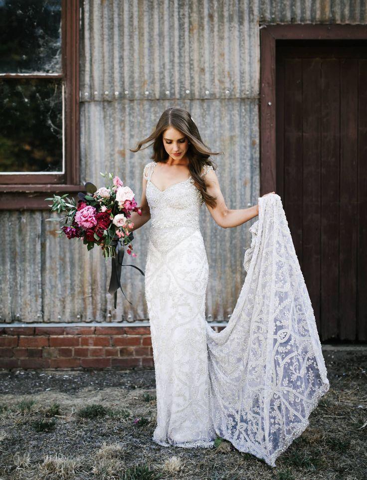 Tendance Robe du mariée 2017/2018  Anna Campbell wedding dress
