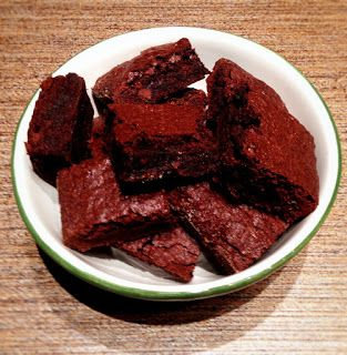 Krásné recepty od Aničky: Čokoládové brownies