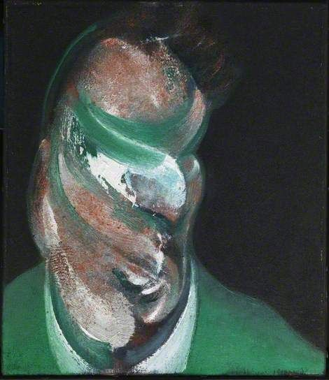 Study for Head of Lucian Freud, 1967, Francis Bacon