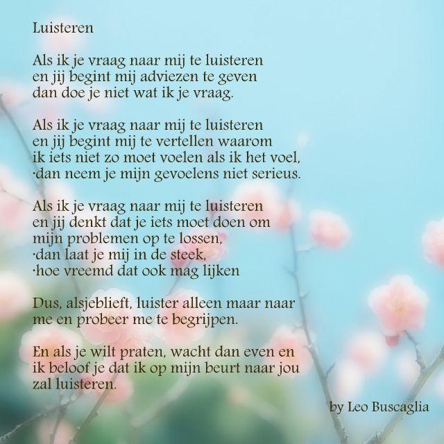 #gedicht #luisteren #alzheimer
