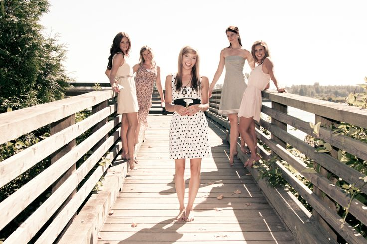 Bachelorette Party: Girlfriends Photo shoot   Wedding Planning Vancouver   Kailey Michelle Events