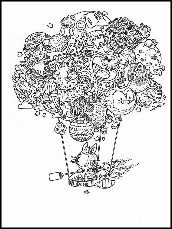 Doodles Im Weltraum 40 Ausmalbilder Fur Kinder Malvorlagen Zum Ausdrucken Und Ausmalen Ausmalbilder Ausmalbilder Zum Ausdrucken Ausmalen