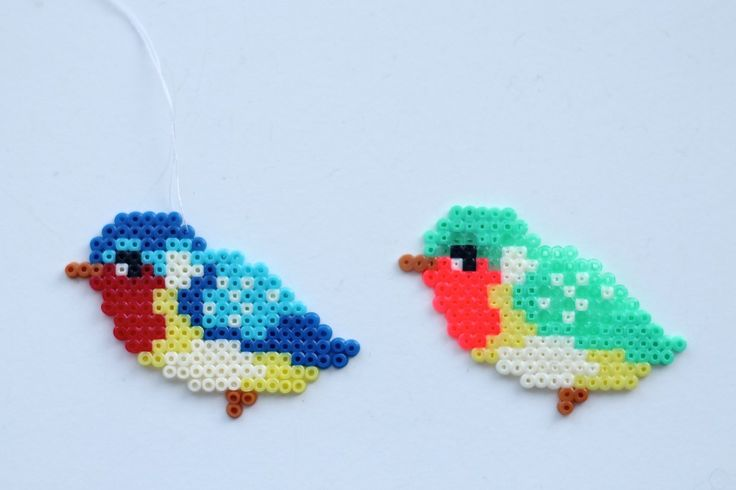 hama perler-fugle ophæng-birds-hama