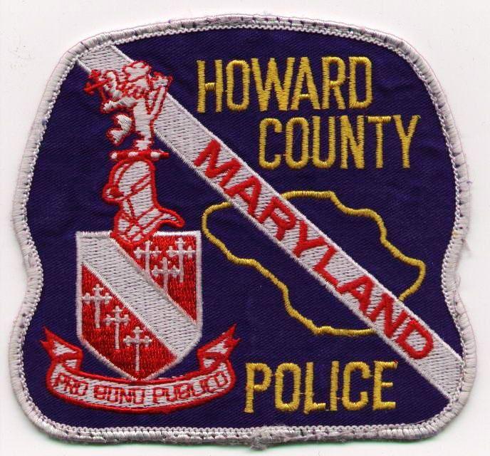 https://flic.kr/p/eRTxhx | Patches_Howard County MD Police
