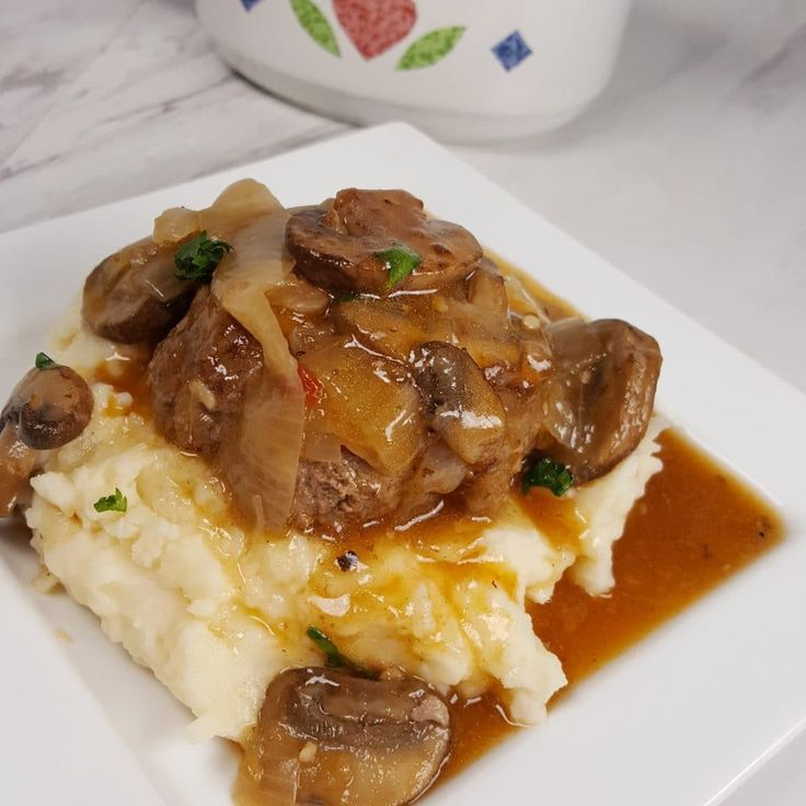 Instant Pot Salisbury Steak