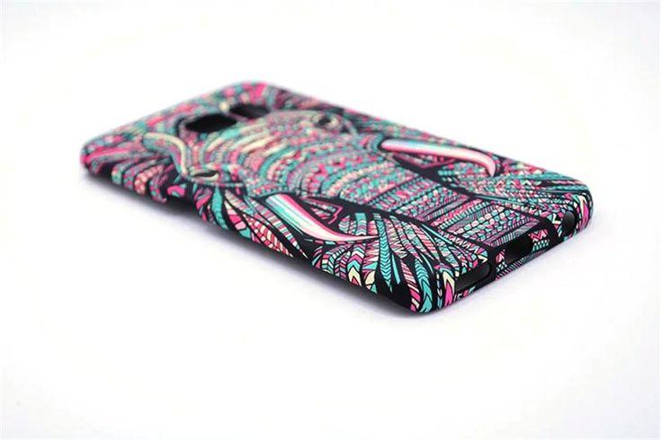 Amazing  Elephant Design Phone Case For Samsung Galaxy S6 S6Edge S7 S7Edge S8 S8Plus - Kaptelli Store
