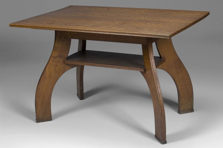 Arts and Crafts (SE) - Occasional Table by Swedish, Oak. H75cm x L120cm x W80cm, 1910