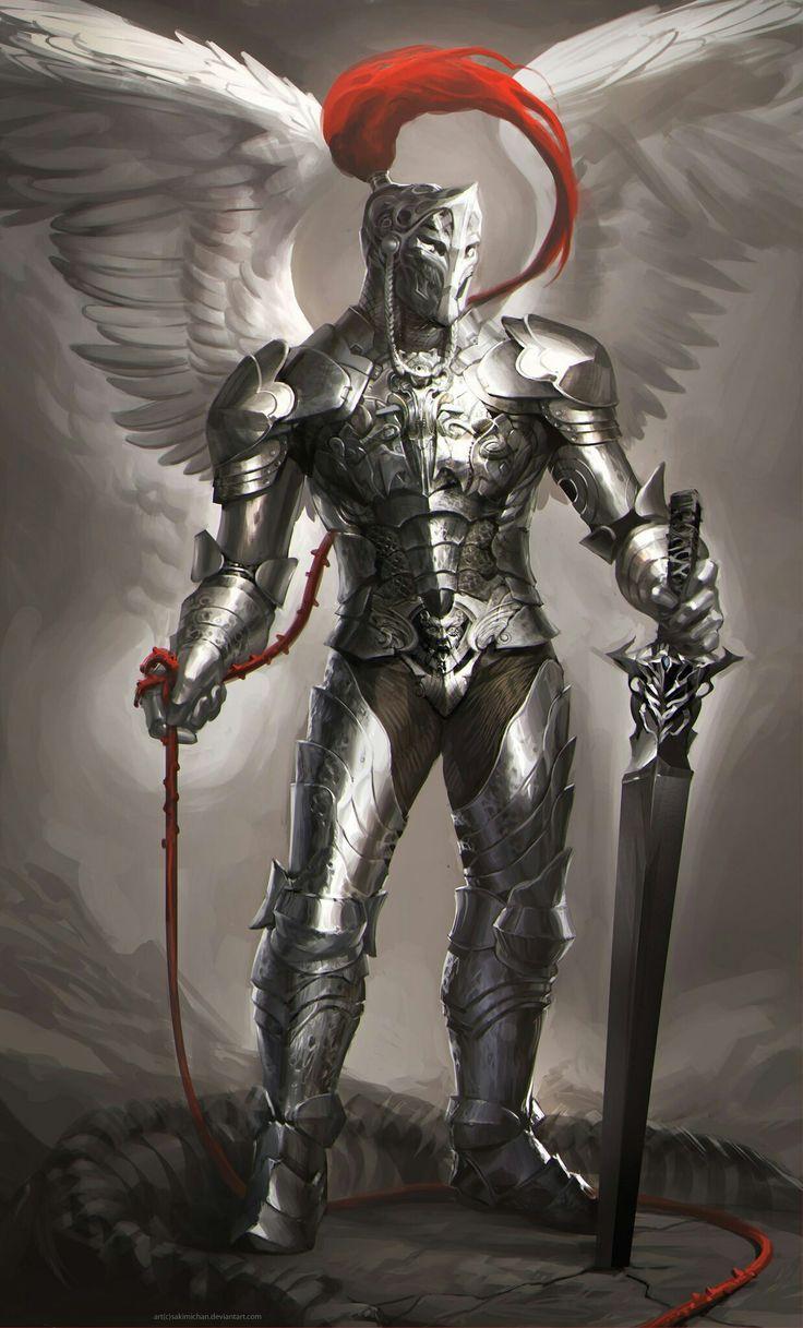 так остался картинки рыцаря с крыльями ангела павлинов