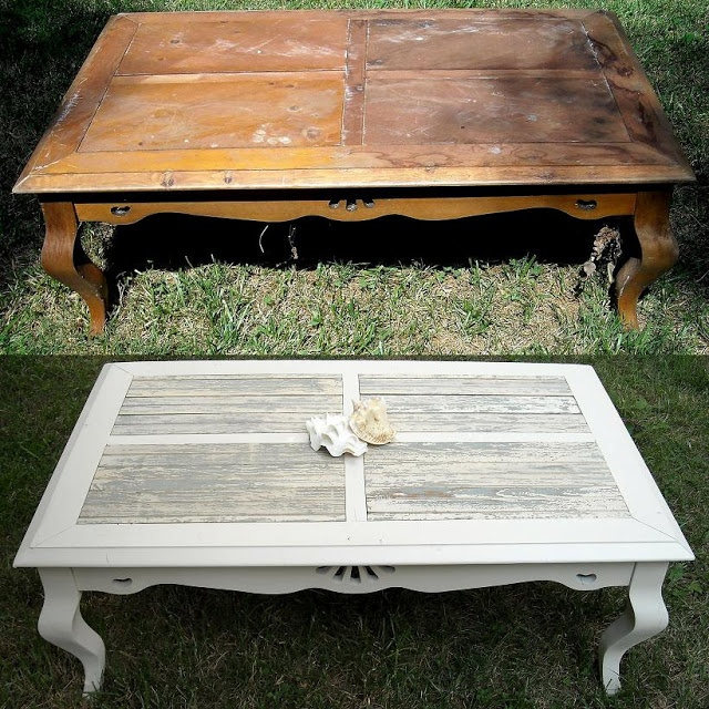 Diy Shabby Chic Coffee Table: 27 Best Images About Shabby Chic Coffee Table On Pinterest