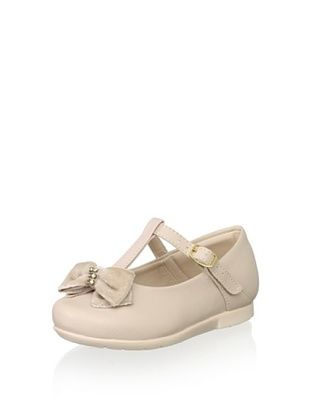 54% OFF Pampili Kid's T-Strap (Nude)