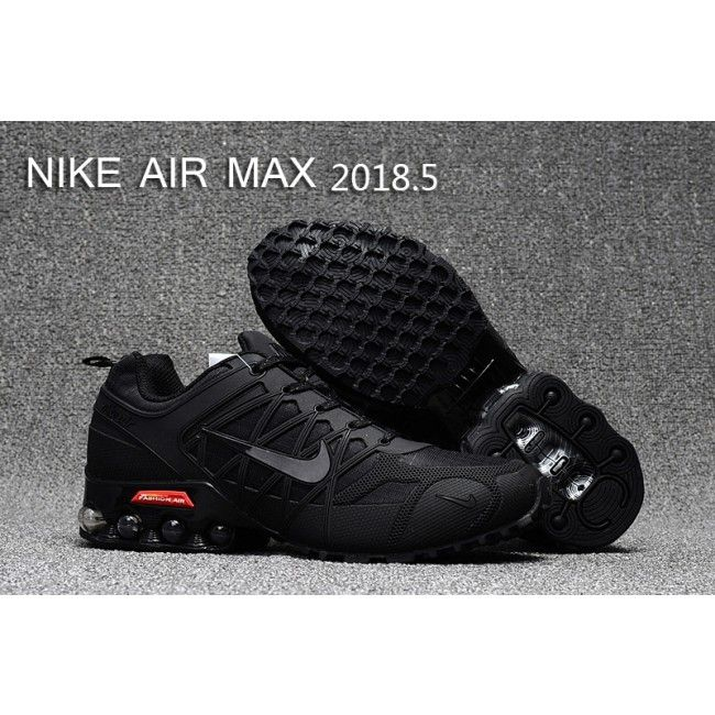 sale retailer 17f44 93bdd £45.86 Cheap Genuine Mens Nike Air Max 2018.5 Training Shoes All Black Ii  Australia Cheap Sale