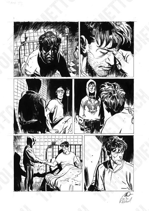 Dylan Dog - Mater Morbi, pag.23 Comic Art