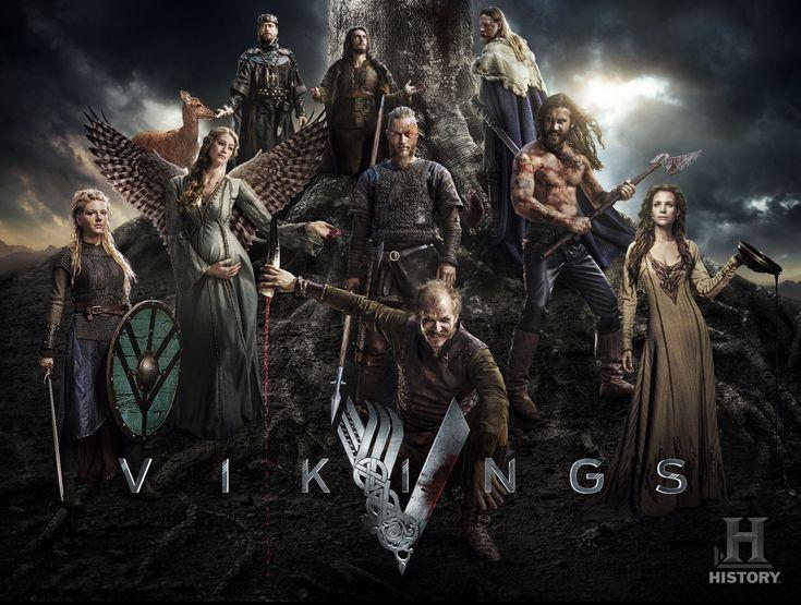 Vikings este un serial de televiziune istoric dramatic, scris și creat de Michael Hirst pentru postul de televiziune History. Serialul a avut premiera în data de 3 martie 2013 în Statele Unite și Canada. Filmat în Irlanda, Vikings este inspirat din povestirile despre vikingul Ragnar Lodbrok,
