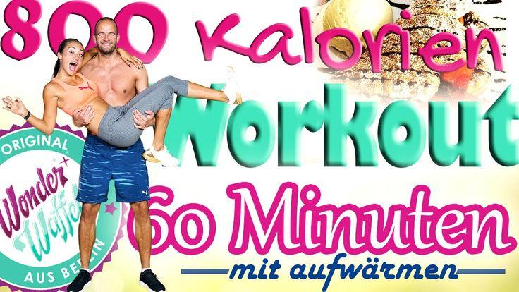 Perfektes Home Workout ☼ 800 Kalorien in 60 Minuten verbrennen ☼ Zuhause...