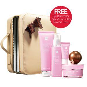 Nutrimetics Hydrafinity Skincare Gift Set Christmas 2013 Free Eye Rejuvenator + Free Luxe Glitter Skincare Bag  https://www.nutrimetics.com.au/cyndi/Collection/Hydrafinity.aspx