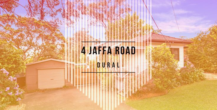 SOLD by Kerry Wilson from LJ Hooker Dural  4 Jaffa Road, Dural  Check out the Slideshow by Core Create at https://youtu.be/oSISUPCTFak