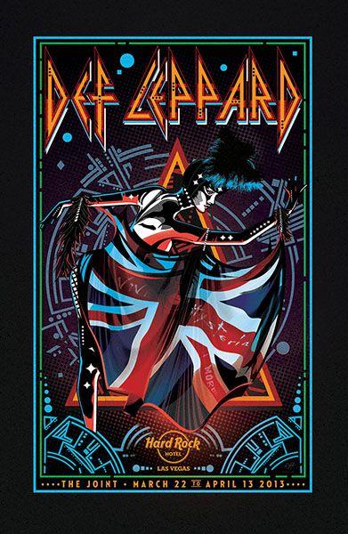 Def Leppard ~ Hard Rock Hotel, Las Vegas 2013 - #defleppard