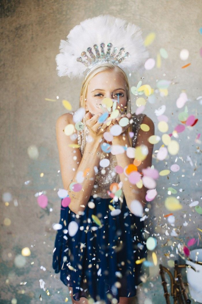 confetti for days! {new year's eve!}