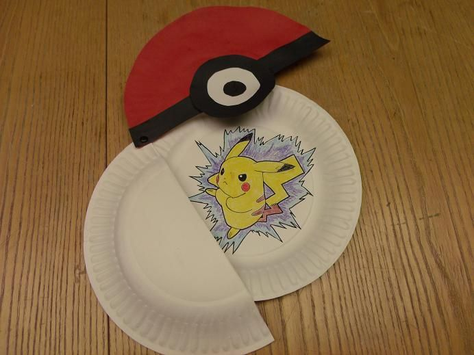 Let the kids make their own Pokeballs complete with their choice of Pokemon inside!