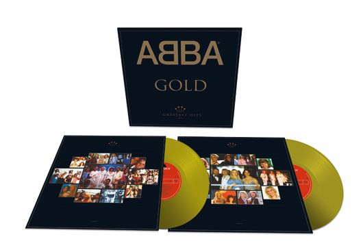 The definitive ABBA compilation, Gold: Greatest Hits, will be reissued for its 25th anniversary, as a limited edition gold vinyl release, on 30 June 2017.