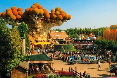 lake garda - Gardaland Amusement park