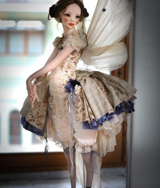 Авторская кукла Бабочка от Алисы Филипповой