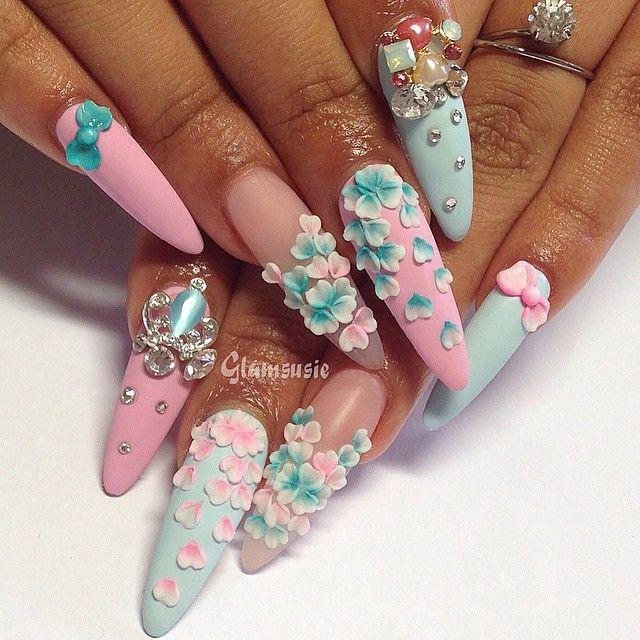 Pro Nail Designs: 25+ Best Ideas About 3d Nails Art On Pinterest