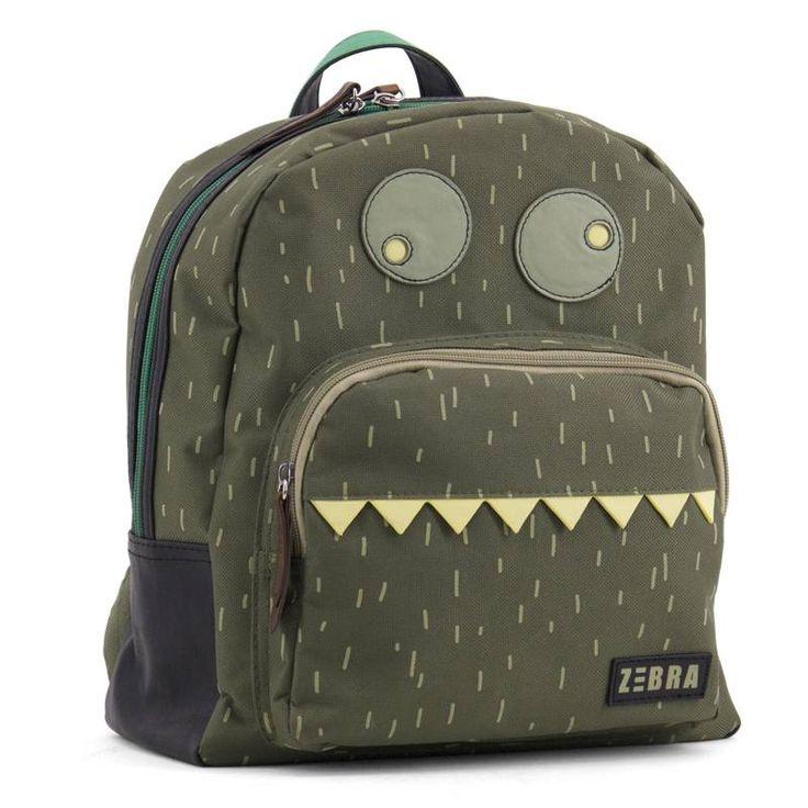 Kinderrugzak Boys Monster van Zebra Trends hier online kopen. Stoere kinderrugzak met monster. Goede kwaliteit en ook zeer geschikt als schooltas!