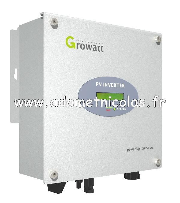 Onduleurs growatt 1500W - Vente en ligne panneaux solaires Vosges - kits photovoltaïques - Installer Panneau Materiel Solaire