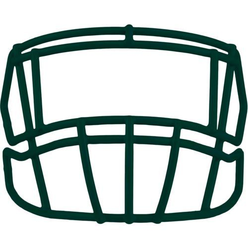 Riddell Adults' S2EG Football Facemask Green Dark - Football Equipment, Football Equipment at Academy Sports