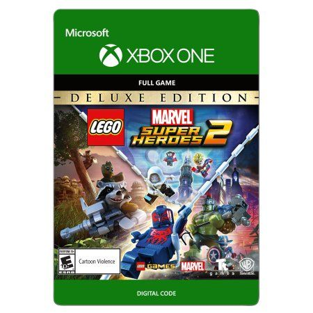 Lego Marvel Super Heroes 2 Deluxe Edition Xbox One Email Delivery Walmart Com In 2020 Lego Marvel Lego Marvel Super Heroes Memes