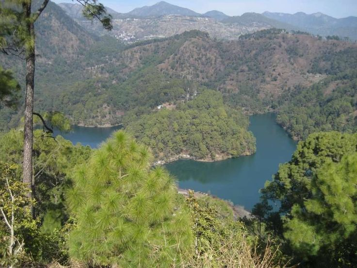 The Sattal lake, #Bhimtal. Doesn't it represent the gorgeous look of mother nature?