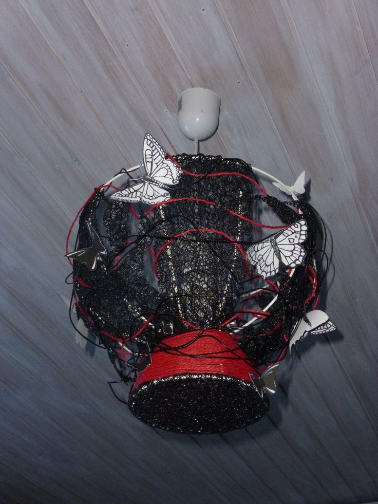 25 best ideas about abat jour rouge on pinterest boule. Black Bedroom Furniture Sets. Home Design Ideas