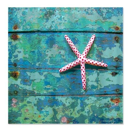 Great shower curtains on this site. Starfish and Turquoise Shower Curtain