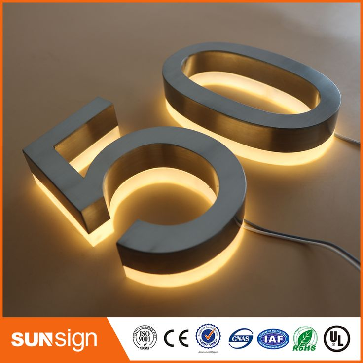 About illuminated house numbers on pinterest solar lights diy house