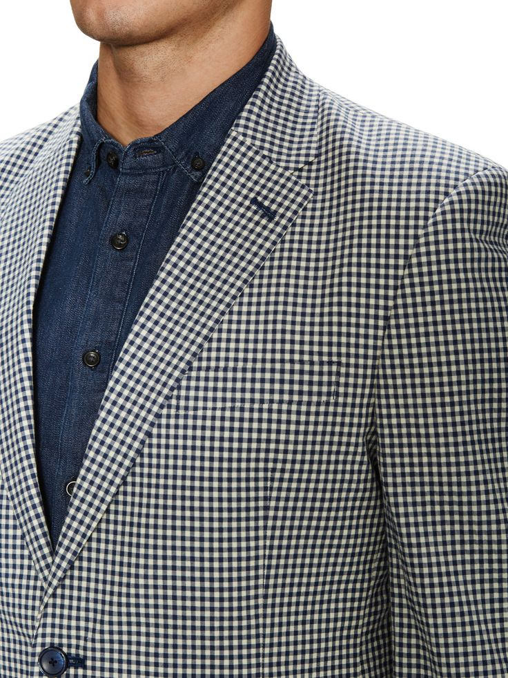 Tommy Hilfiger Suiting — Stretch Seersucker Sportcoat on daiiily.com (until 03/22/2015 on Gilt)